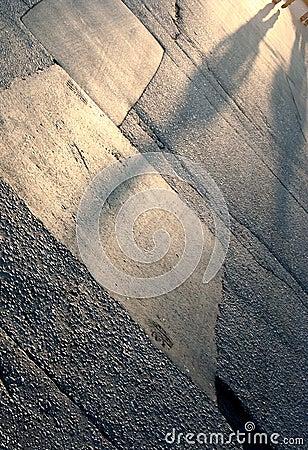 Asphalt shadows