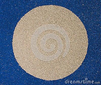 Asphalt surface.