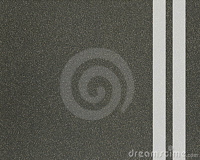 Asphalt texture with lines