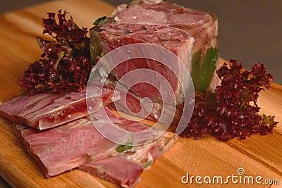 Aspic Meat