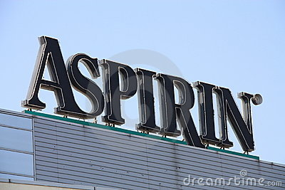 Aspirin Editorial Photo