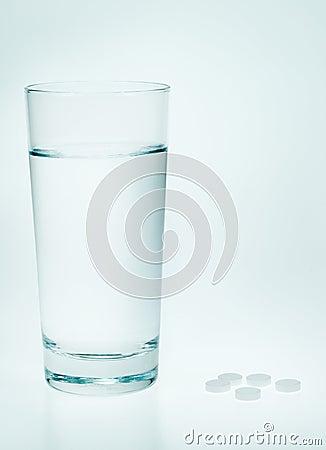 Aspirin et l eau