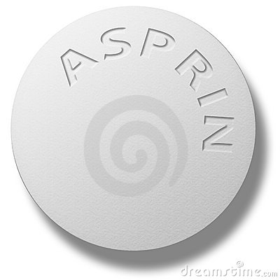 Aspirin Tablet Editorial Stock Image