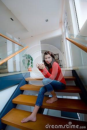 Assento em escadas