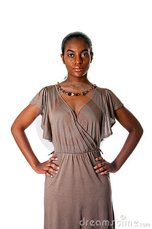 Free Assertive African Business Woman Stock Photos - 13444383