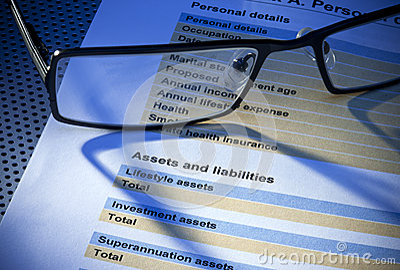 Assets Liabilities Insurance Form