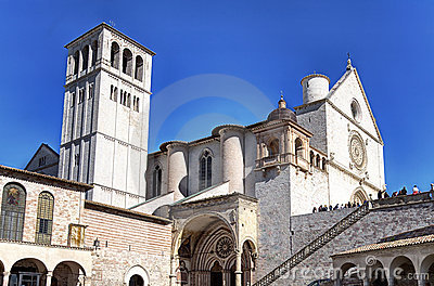 Assisi, the Basilica of San Francesco