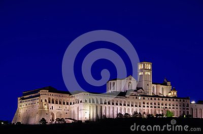 Assisi night