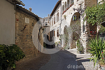 Assisi old street