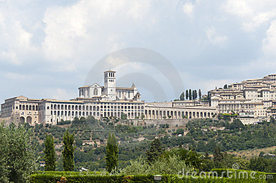 Assisi, panoramic view