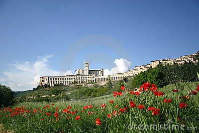 Assisi in spring