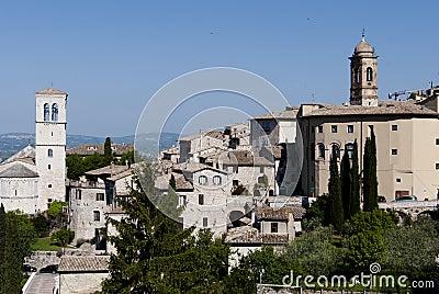 Assisi widok
