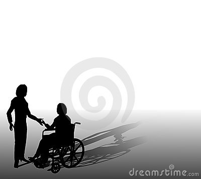 Assisting Person In Wheelchair
