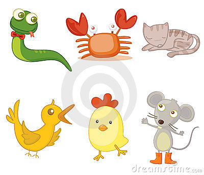 Assorted animals
