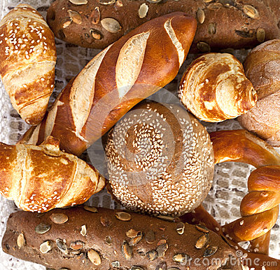 Free Assorted Bread And Rolls Stock Photo - 29668450