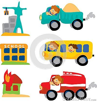 Assorted car set