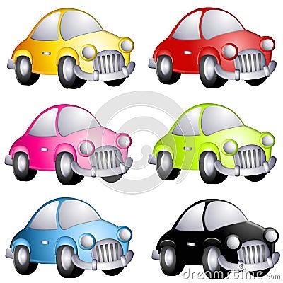 Free Assorted Cartoon Automobiles Stock Photos - 4750203