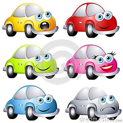 Assorted Cartoon Bug Style Cars