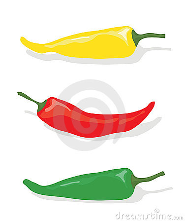 Free Assorted Chilli Peppers Royalty Free Stock Photography - 12903407
