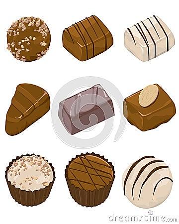 Free Assorted Chocolates Stock Image - 7226311