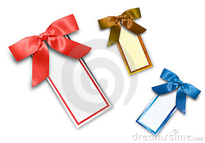 Assorted Colored Blank Sales Tags