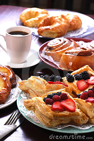Free Assorted Danishes Royalty Free Stock Image - 11005316