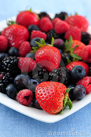 Assorted Fresh Berries Stock Photography - Image: 5182952