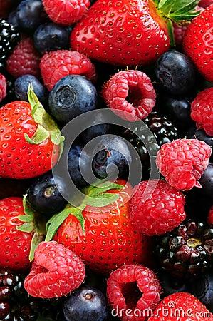 Free Assorted Fresh Berries Stock Photos - 5182963