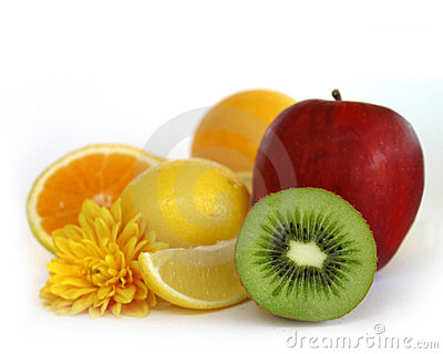 Assorted fresh fruits