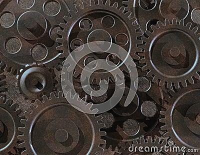 Assorted gears
