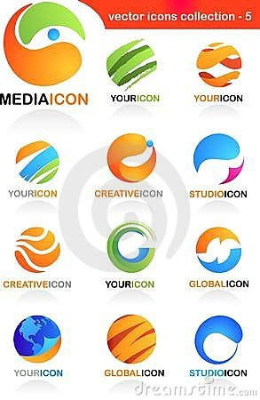 Free Assorted Globe Icons Stock Photos - 14100033