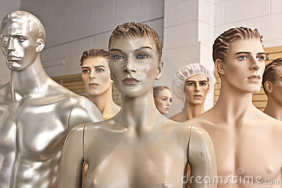 Assorted Mannequin Troop