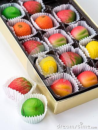 Assorted Marzipan Fruit