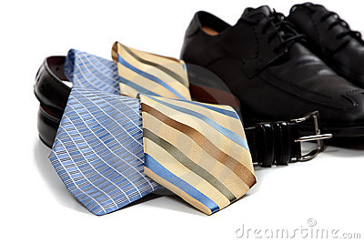 Assorted men s clothing accessories
