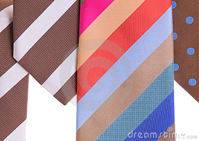Assorted neckties