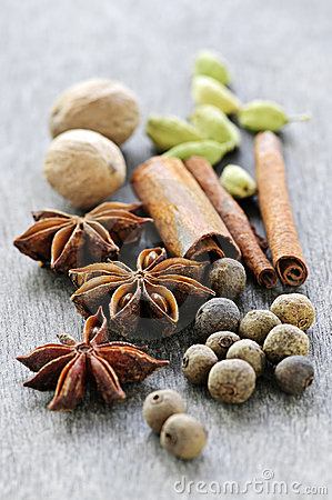Free Assorted Spices Stock Image - 12326231