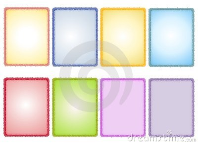 Assorted Spring Textured Paper Backgrounds