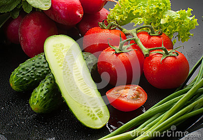 Assorted vegetables