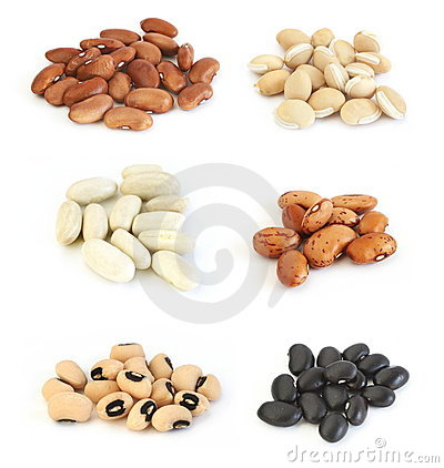 Assortment of beans