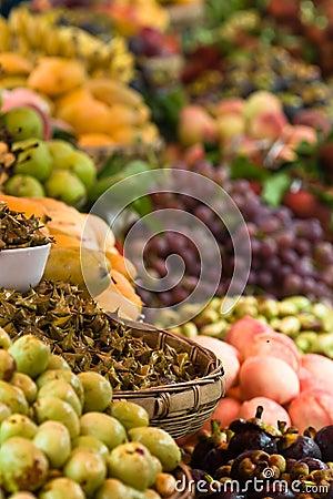 Assortment of exotic fruits (1)