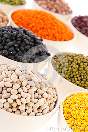 Free Assortment Legumes Royalty Free Stock Photos - 34020698