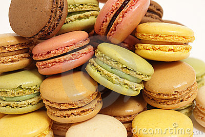 Assortment of macaroons