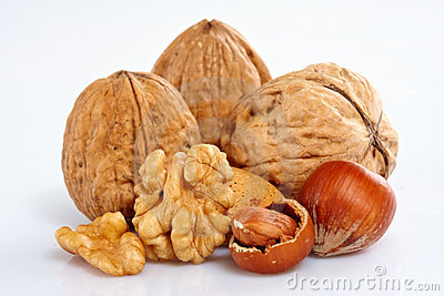 Assortment Of Nuts Royalty Free Stock Images - Image: 12822509