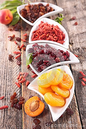 Free Assortment Of Dry Fruit Royalty Free Stock Image - 54662056
