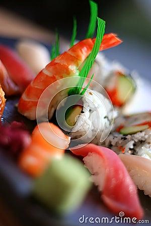 Free Assortment Of Sushi 2 Royalty Free Stock Photo - 2396425