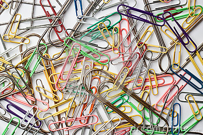 Assortment of paper clips