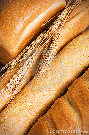 Assortment of tasty bread