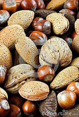 Mixed Nut background