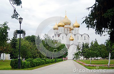Assumption Cathedral in summer, Yaroslavl, Russia