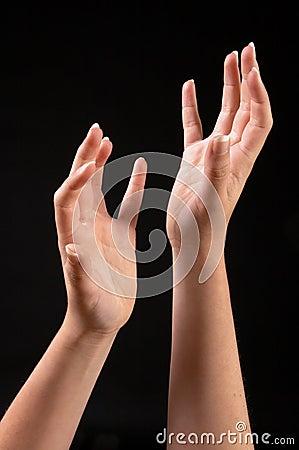 Assymetric hands